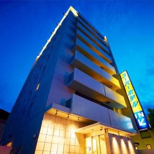スーパーホテル大垣駅前外観