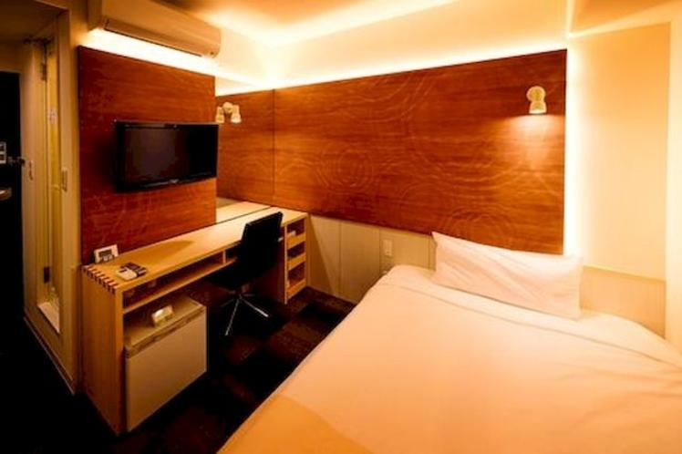 【ダブルルーム】ぐっすりに特化したお部屋作り。ゆっくりとお休みください♪