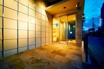 スーパーホテル大垣駅前エントランス