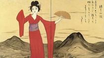 【竹久夢二伊香保記念館】数々の美人画、デザイン画、水彩画、素描など、幅広い作品を16,000点所蔵。