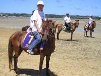 サニツ浜カーニバルの浜競馬