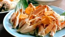 【ご夕食一例】冬季限定-カニすきプラン