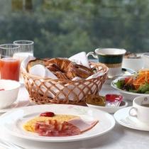 ご朝食一例(洋定食)