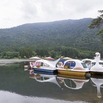 *北竜湖のアクティビティ/北竜湖ではボート遊びも出来ます