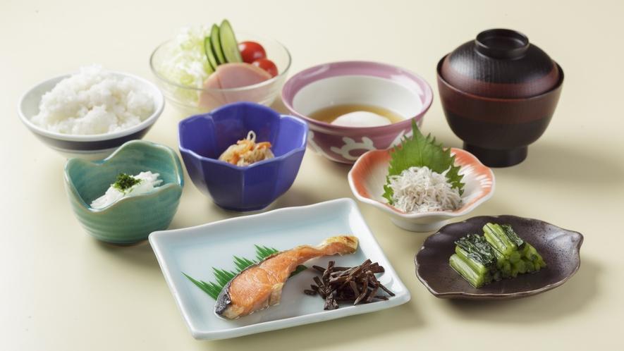 *ご朝食の一例/体に優しい和食のセットメニューを食べて、1日の元気をチャージ