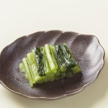 *お料理一例/野沢菜漬け