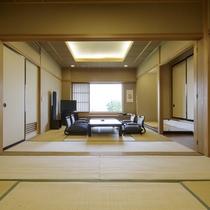 *温泉付特別室(和室&和室))/和の風情漂う落ち着いた雰囲気の特別室