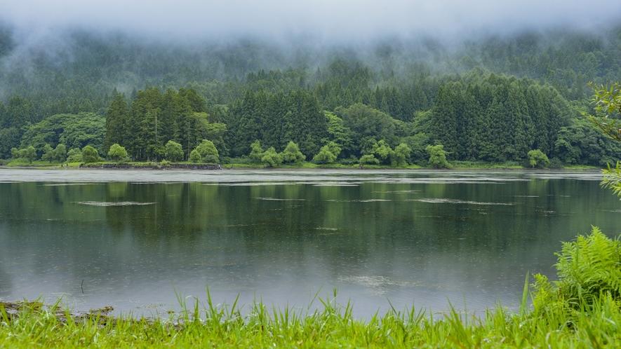 *夏の北竜湖