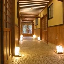 一般客室回廊