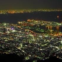 摩耶山1000万ドルの夜景