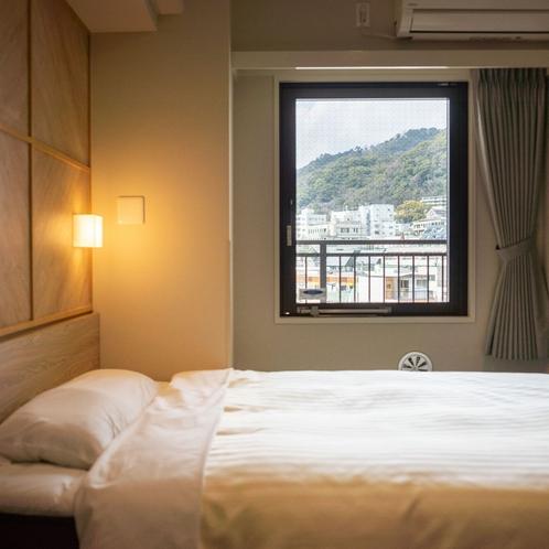 客室の窓からは神戸の市街地が一望できます♪(高層階)