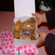 ウエディング用お菓子の詰め合わせギフト