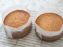 特製ケーキはオーナーが作ります