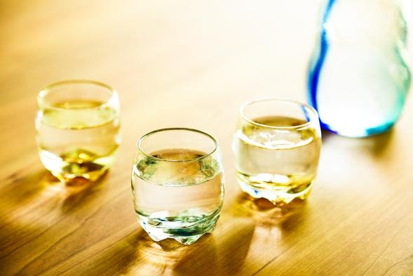 単身サラリーマン向け 今夜は しっとりお酒プラン<夕食部屋食+極上地酒3本飲み比べ>