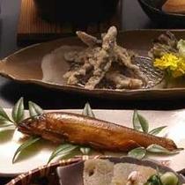 【鮎の甘露煮】20時間煮こんでいます!女将自慢のお料理です。