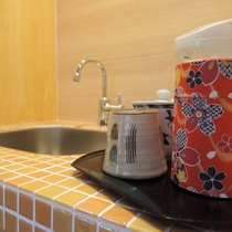 リニューアル客室◆光の間◆お茶セット