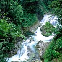 三段滝(奥志賀渓谷)