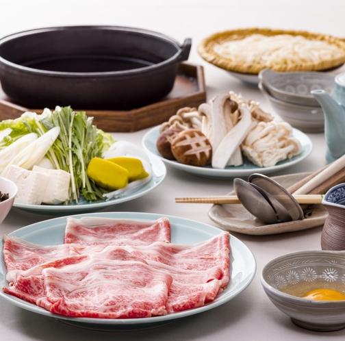 【和食】スペシャルプラン「黒毛和牛関東風すき焼き」