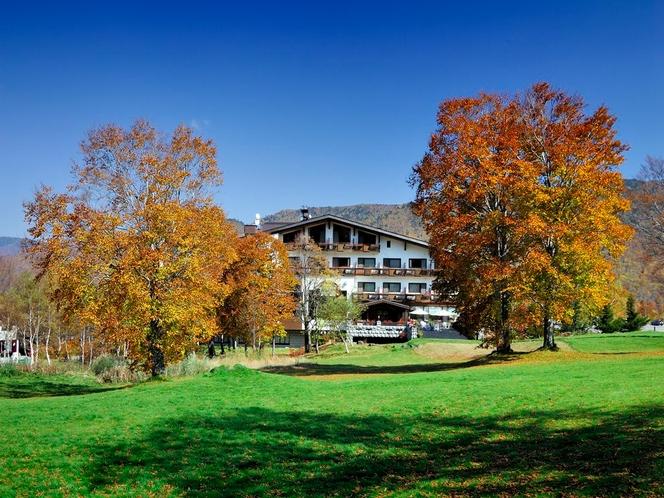 秋の奥志賀高原