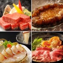 【夏】一人一人選べる嬉しいお料理プラン