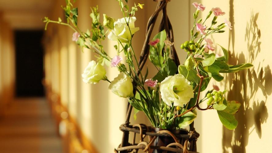 【館内】ゆさ館内では季節や節句に合わせた飾りつけがあります。館内を回られる際は是非ご覧くださいませ
