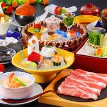 【米の娘ぶた旬のお造り】米の娘ぶたと旬のお刺身をメインした和食膳