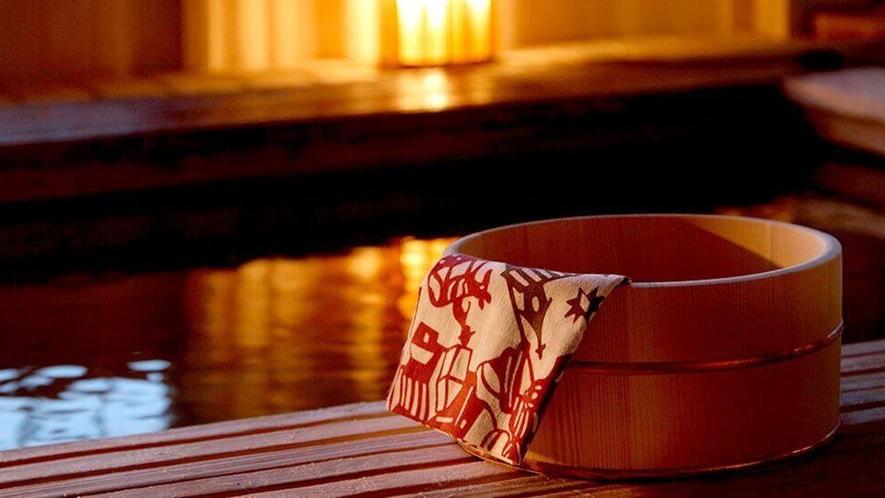 【あたたまりの湯】 悠湯の郷ゆさの温泉は無色透明、上がってからもポカポカの「あたたまりの湯」です