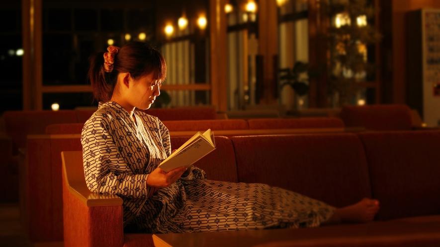 【ロビー】ロビーには、日経新聞、読売新聞、山形新聞、また周辺の観光パンフレット等もございます