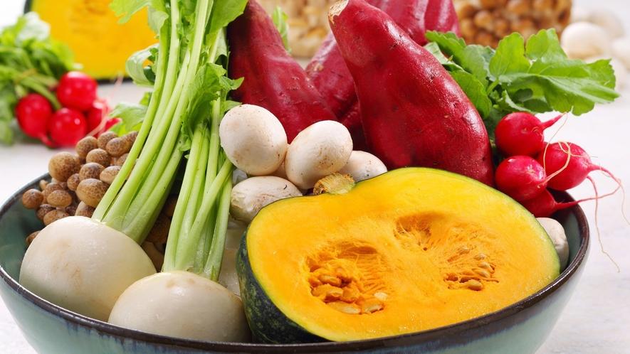 【ゆさ新鮮野菜】調理長の自ら選定した新鮮野菜。一品一品こだわった料理を出す理由があります♪