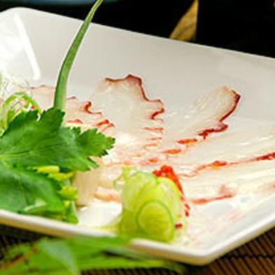 ◆土日限定!【黒毛和牛+イカ又はタコのしゃぶしゃぶ】こだわり料理でおもてなし★