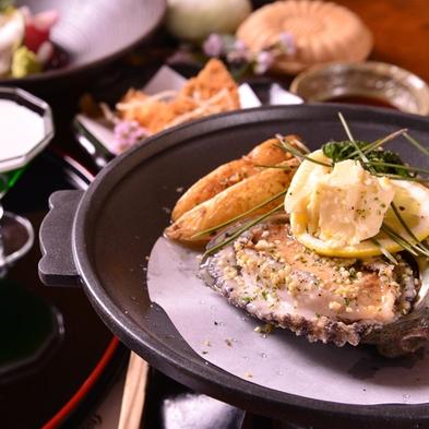 ◆「活伊勢海老と活あわび」の2品を贅沢にステーキとお刺身で豪華!