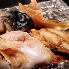 ◆日帰り【昼食+温泉】グレードアップ↑天然とらふぐ尽くし+焼ふぐ★とらふぐの握り鮨付き!