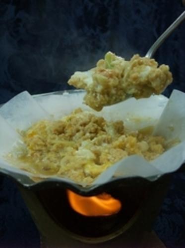青森の郷土料理「ホタテの貝焼味噌」