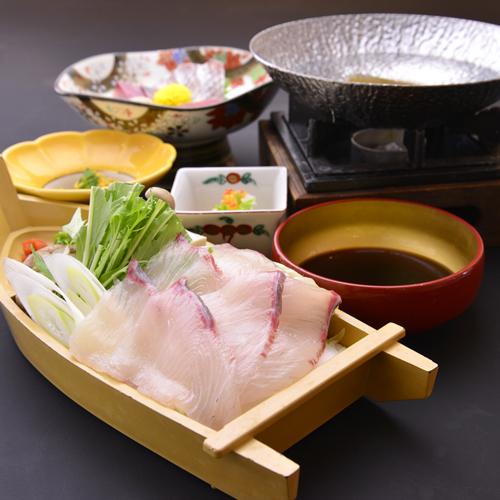 お夕食例【海鮮しゃぶしゃぶ】