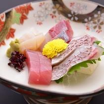 *お夕食一例(お造り)