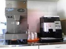 浄水器、ミル付きコーヒーメーカー