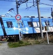 伊賀鉄道 忍者列車 銀河