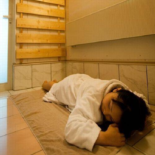☆全室の完備☆岩盤浴サウナでリラックス♪