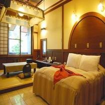 16畳Wベッド和洋室