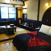 16畳 ダブルベッド