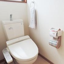 *【亀川(トリプル)】こちらのお部屋にはトイレが付いております。