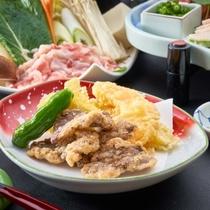 【さくら会席】馬肉の竜田揚げ。こんな珍しい料理も熊本ならでは。