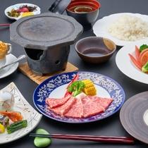 【洋風会席/一例】地元・熊本県産黒毛和牛ステーキの洋風会席♪柔らかく甘みのある味をこの機会に!
