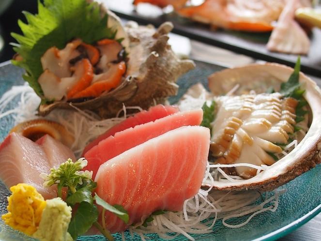 久六島満喫プラン料理例2