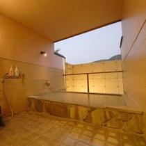 *箱根の山々がご覧いただける貸切風呂