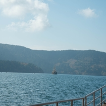 *芦ノ湖/当館からお車で約30分。美しい景色をお楽しみ下さい。