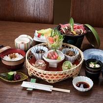 *昼食(一例)/日帰りプランでお楽しみいただける昼食。