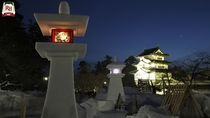 弘前城雪燈籠まつり 弘前市