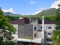 夏期 湯元オロフレ荘全景
