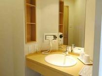 和室8畳と和室10畳の洗面台